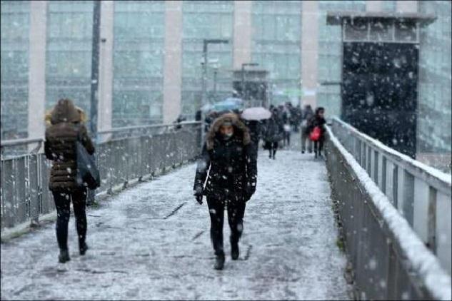 Meteoroloji'den İstanbul'a Kar Alarmı