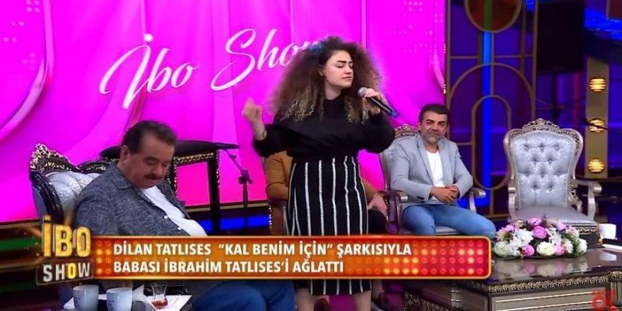İbrahim Tatlıses İbo Show'a Kızını Çıkardı Kızı Eski Defterleri Açtı! İbrahim Tatlıses'i Kızı Türkiyenin Gözü Önünde Rezil Etti