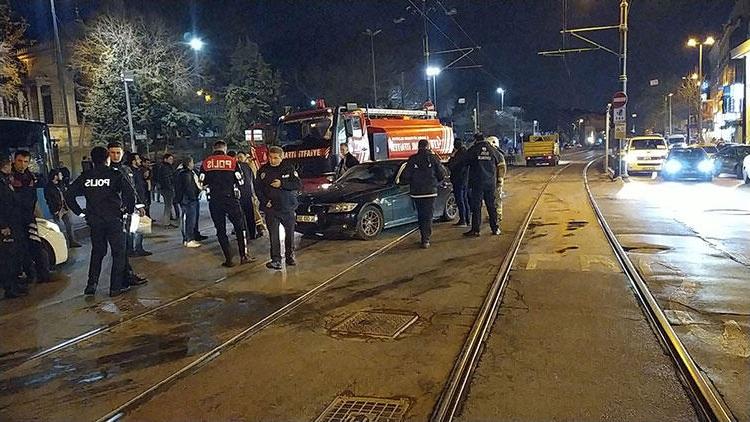 İstanbul'da Meydana Gelen Kaza Seferleri Aksattı