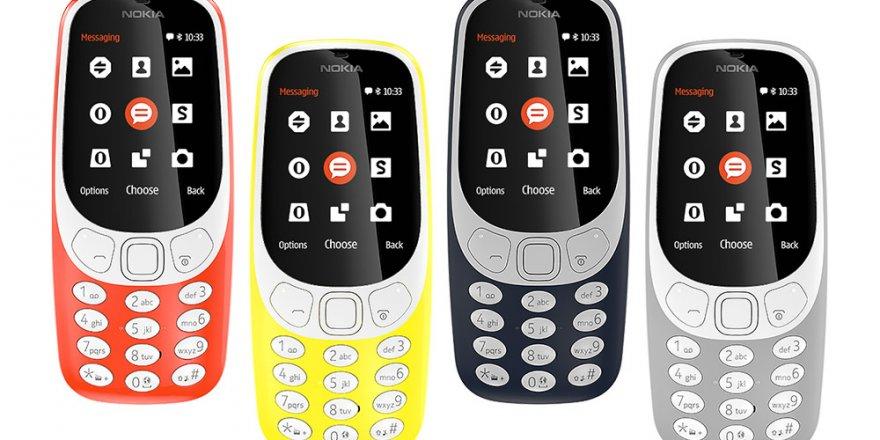 Yeni Nesil Nokia 3310 Özellikleri Şaşırttı! Nokia 3310 Fiyatı Kaç TL?