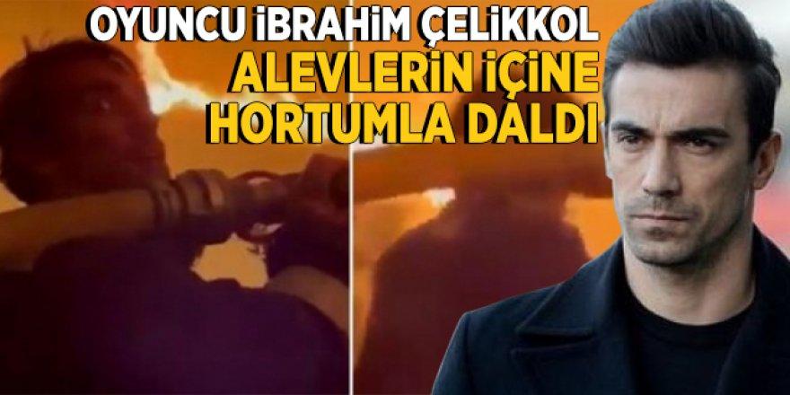 İbrahim Çelikkol'dan orman yangınlarına destek
