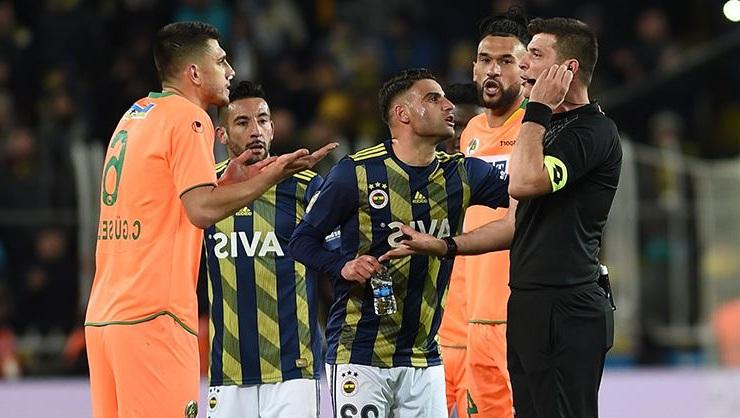 Fenerbahçe- Alanyaspor Maçının VAR Kayıtları Dinlendi