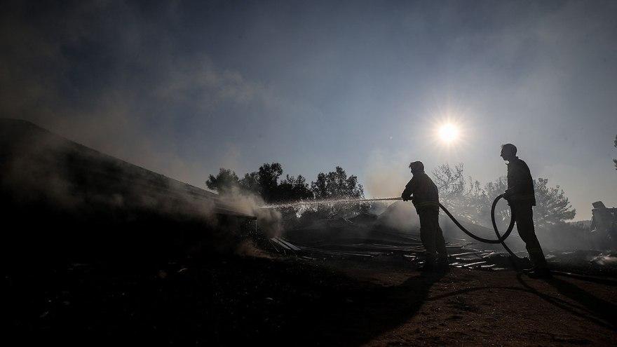 Çanakkale Eceabat'taki Orman Yangını Kontrol Altında