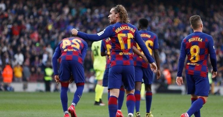 Barcelona 3. Galibiyetini Aldı Puanı 52'ye Çıktı