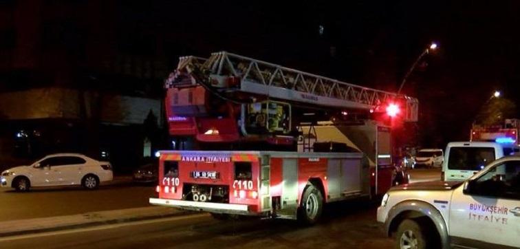 Ankara Üniversitesi İlahiyat Fakültesinde Korkutan Yangın!
