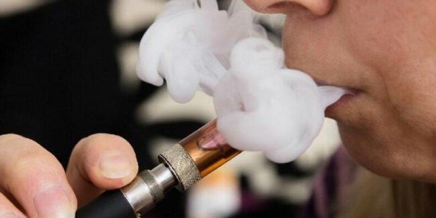 Elektronik sigaralara yasak
