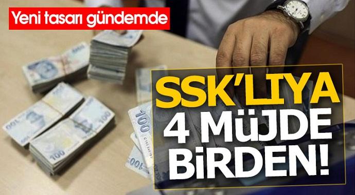 SSK'lıya müjde yeni tasarı yeniden gündemde!