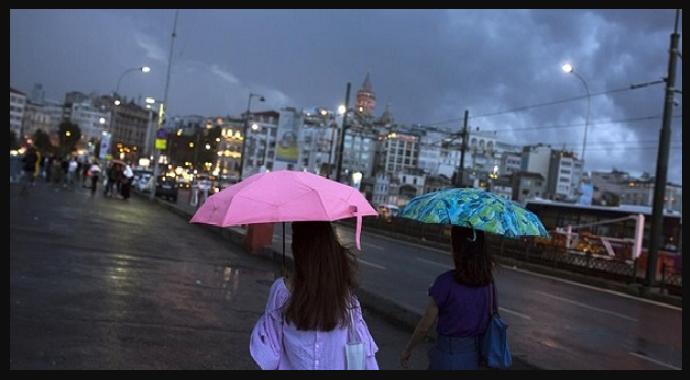 Batı Kıyısında Sağanak Yağmur Geliyor