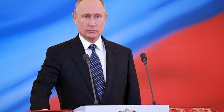 Rusya Başkanı Putin'den savaş açıklaması!