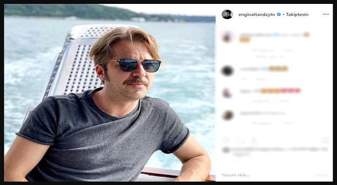 Ünlü Oyuncu Engin Altan Düzyatan Romantikliğini Konuşturdu..