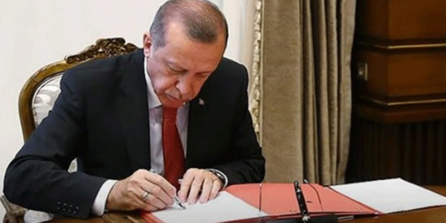 Erdoğan'dan gece yarısı çok sayıda kritik atama
