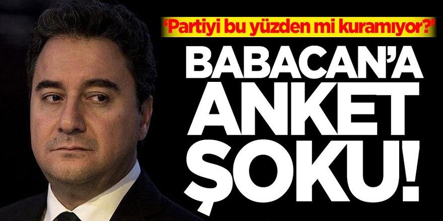 Ali Babacan'a anket şoku! İşte oy oranı