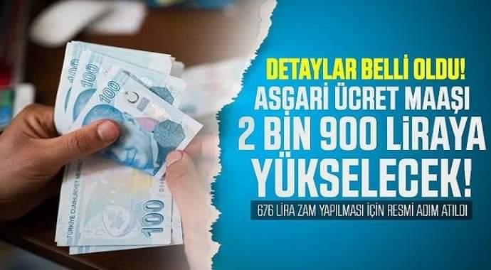 Asgari ücret için resmi adım atıldı! 2 bin 700 lira olacak