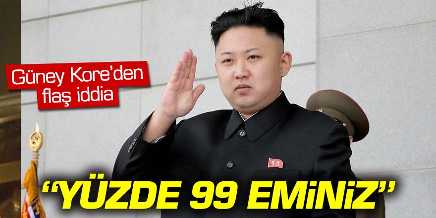"""Kim Jong-un öldü! """"Yüzde 99 eminiz.."""