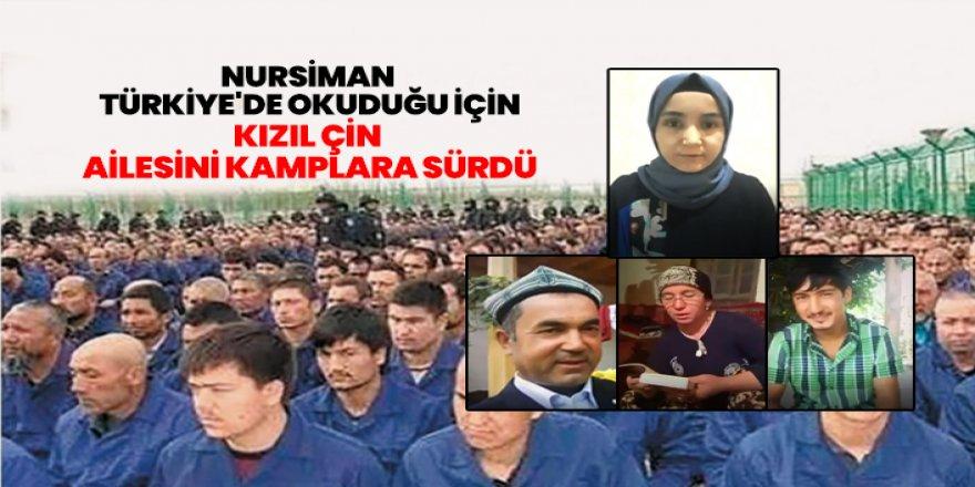Duğu Türkistanlı Kızın Ailesini Kızıl Çin kamplara sürdü