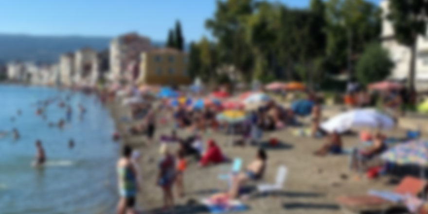Antalya Finike'de iğrenç olay! Sahilde yürüyüş yapan kadına...