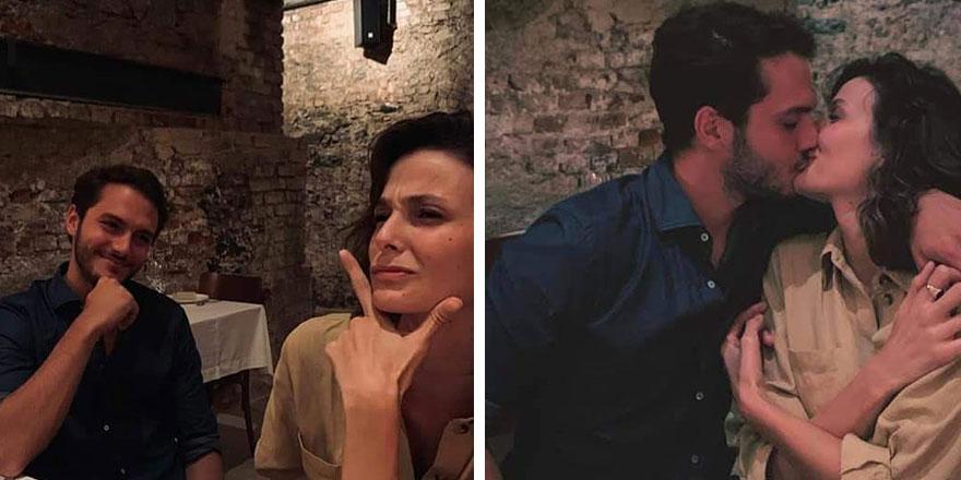 Büşra Develi sevgilisini öptüğü fotoğrafını paylaştı