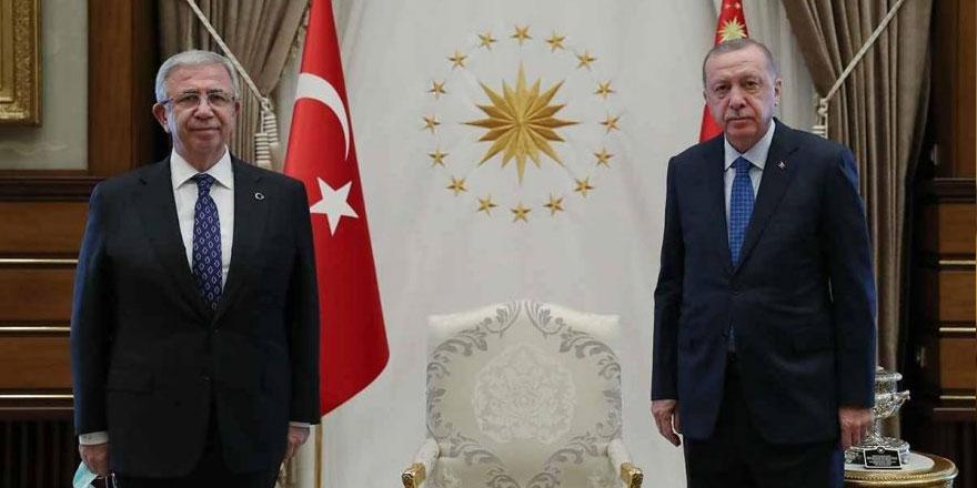Erdoğan ile Mansur Yavaş'ın ne konuştukları ortaya çıktı!