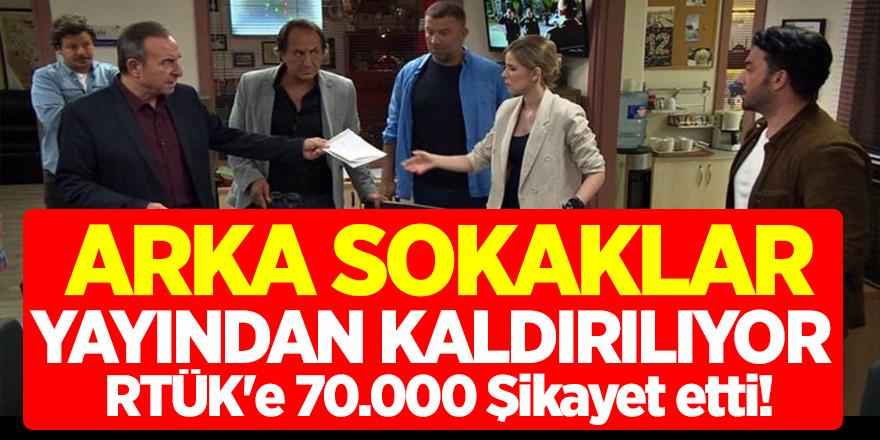 Arka Sokaklar Dizisi Yayından Kaldırılıyor... RTÜK'e 70.000 Şikayet etti! Kanal D'den açıklama geldi