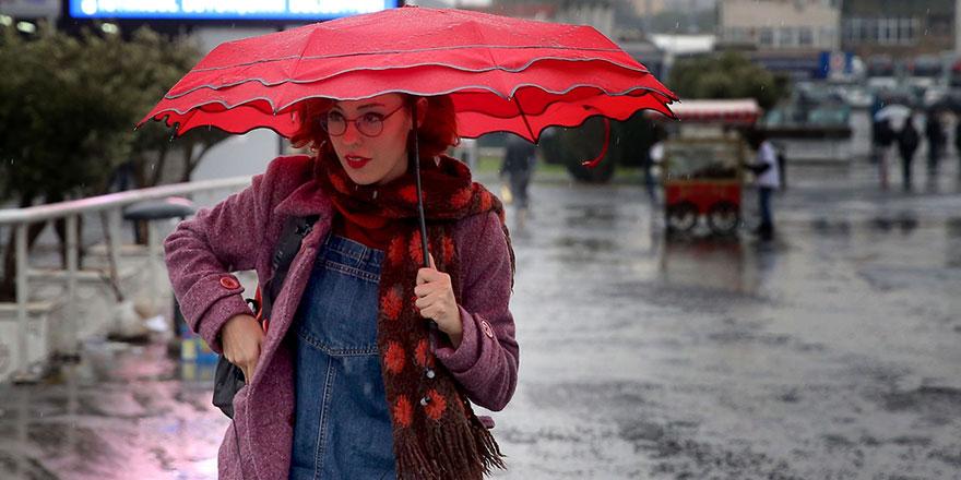 Meteoroloji 17 ile uyardı: Sağanak yağış geliyor