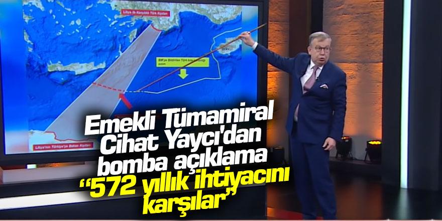 Tümamiral Cihat Yaycı'dan Yeni Doğu Akdeniz açıklaması