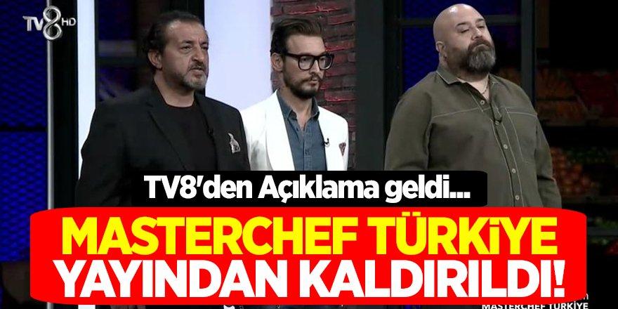 MasterChef Türkiye Yayından Kaldırıldı! TV8'den Açıklama geldi...