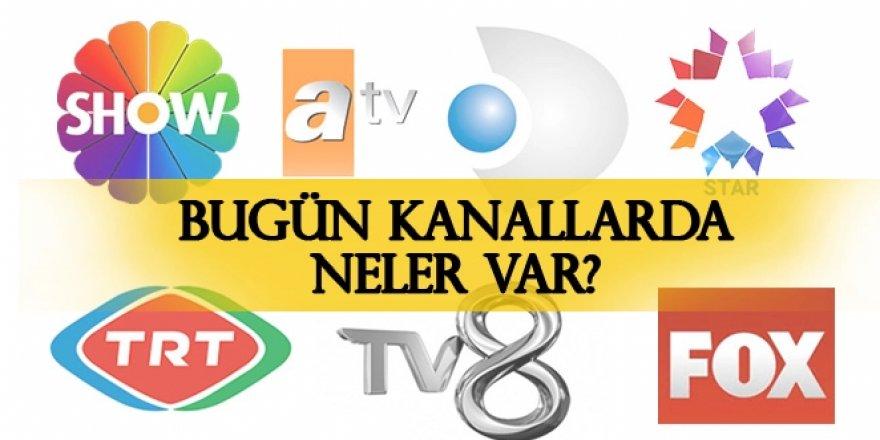 23 Eylül hangi diziler var? 23 Eylül Pazartesi TV yayın akışı, Atv, Kanal D, FOX Tv, TV8, TRT1, Show Tv, Star Tv yayın akışı