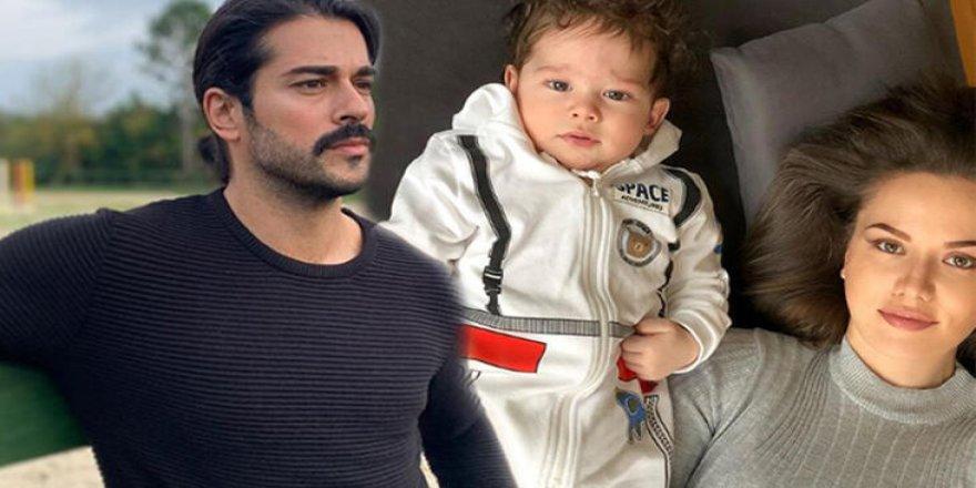 Burak Özçivit'ten oğluyla ilk fotoğraf