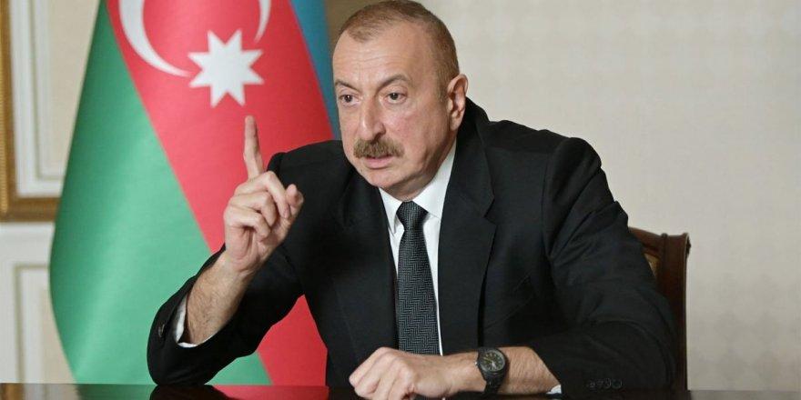 Azerbaycan Cumhurbaşkanı Aliyev'den 'Karabağ' Açıklaması