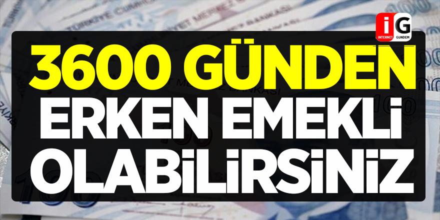 SGK'dan Açıklama: 3600 Günden Hemen Emekli Olabilirsiniz