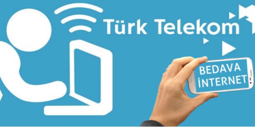 Türk Telekom Kullanıcıları Müjde! Bedava 10 GB İnternet Veriliyor