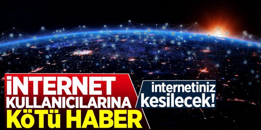 Türk Telekom Saat verdi:8 ilde internet kesilecek