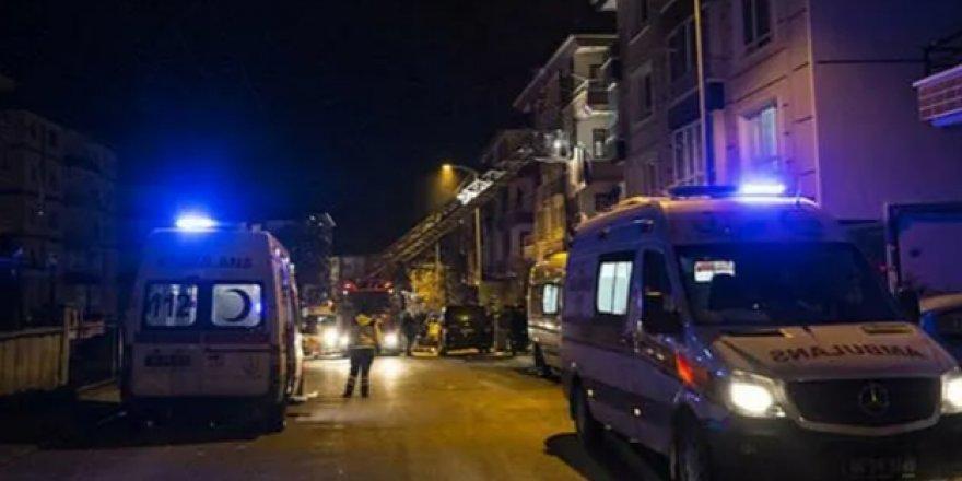 Ankara Mamak'ta korkutan patlama!