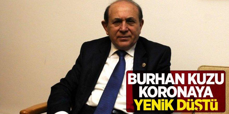 Anayasa Hukukçusu AKP Milletvekili Burhan Kuzu Koronadan Hayatını Kaybetti