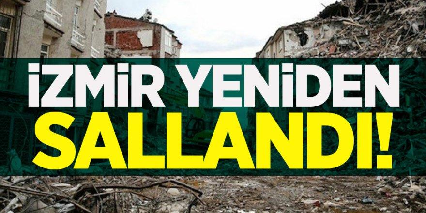 AFAD açıkladı: İzmir'de yine deprem oldu