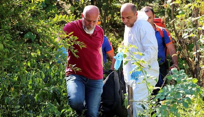 Katil, Ağlayarak Cenaze Törenine Katılmış