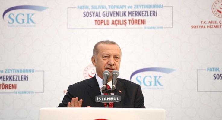 Cumhurbaşkını Erdoğan EYT İşinde Yokum