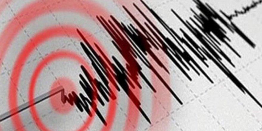 5,9 Büyüklüğü Deprem oldu