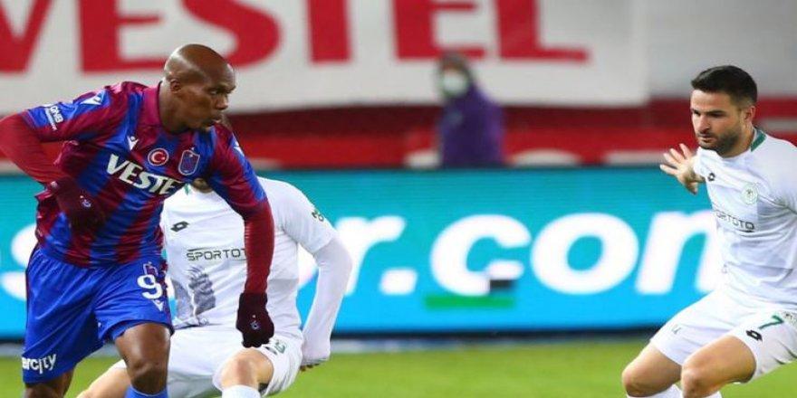 Trabzonspor Sahasında Konya'yı 3 – 1 Mağlup Etti