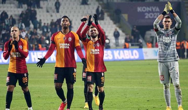 Galatasaray'ın Zirve Yürüyüşü Devam Ediyor
