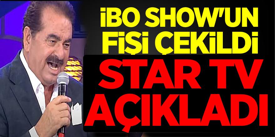 İbo Show'un Fişini Çektiler! İbrahim Tatlıses ve Star TV'den Açıklama Geldi